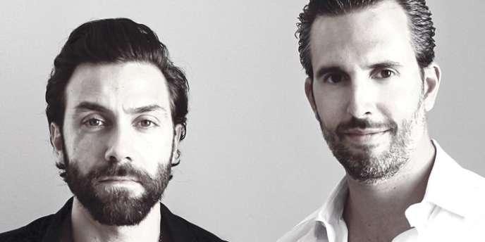 Frédéric Stouls et Marc Ange, respectivement directeur artistique et designer et créateur de Chimère.