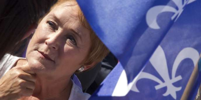 Pauline Marois, chef de file des indépendantistes du Parti québécois.