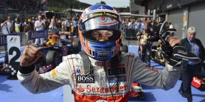 Jenson Button, le 2 septembre à Spa-Francorchamps.