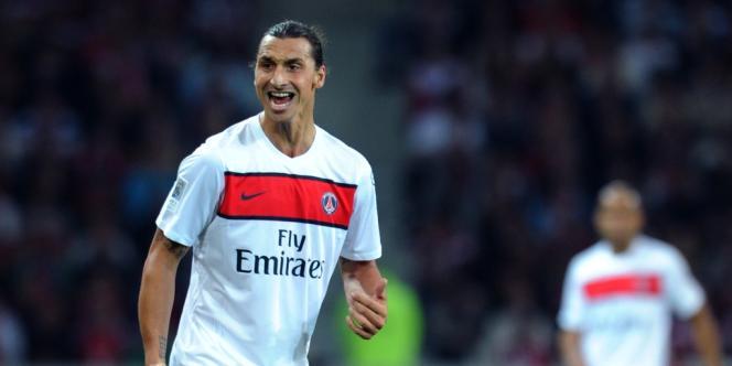 Zlatan Ibrahimovic, double buteur contre Lille.