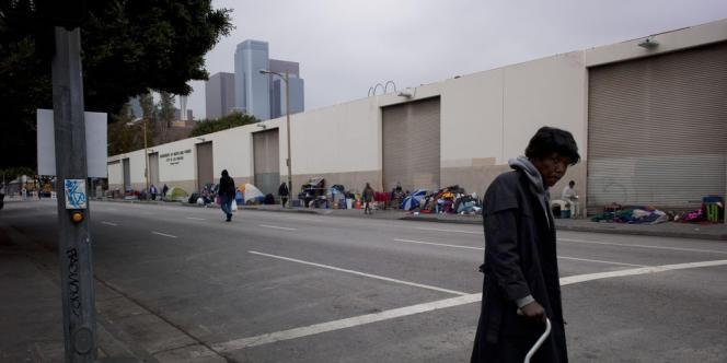 En cinq ans, le taux de pauvreté en Californie a augmenté sept fois plus vite que la moyenne nationale.