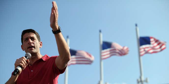 Paul Ryan à Jacksonville, Floride, le 1er septembre.