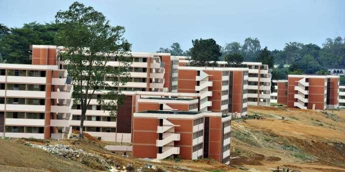 Le nouveau campus universitaire de Cocody, à Abidjan, le 29 août 2012.