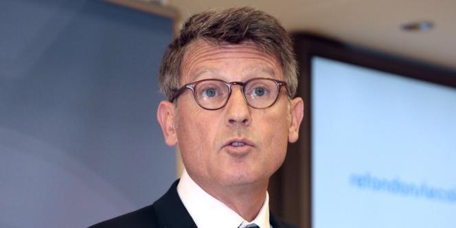 Le ministre de l'éducation nationale, Vincent Peillon, lors de sa conférence de presse de rentrée, le 29 août.
