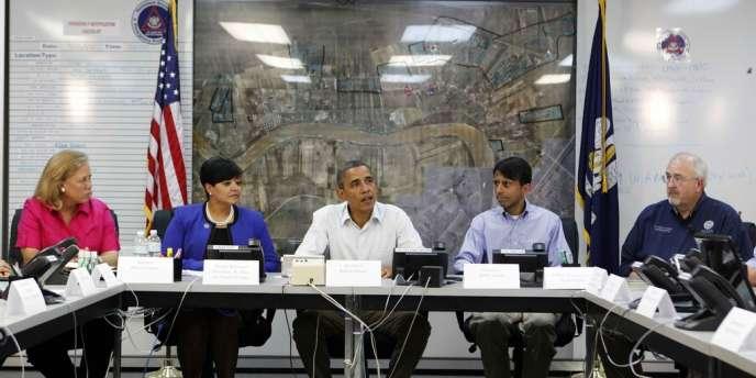 Barack Obama à LaPlace, en Louisiane, le 3 septembre.