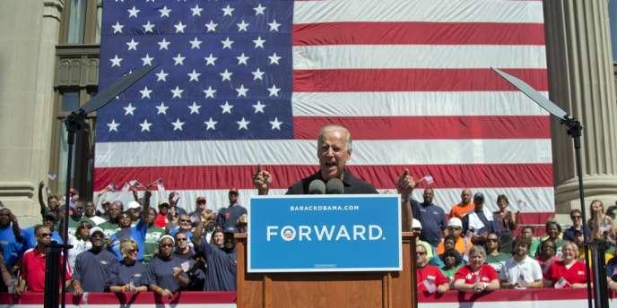Joe Biden, le 3 septembre 2012, devant les membres du syndicat AFL-CIO.