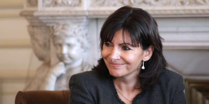 Anne Hidalgo, le 30 novembre 2011.