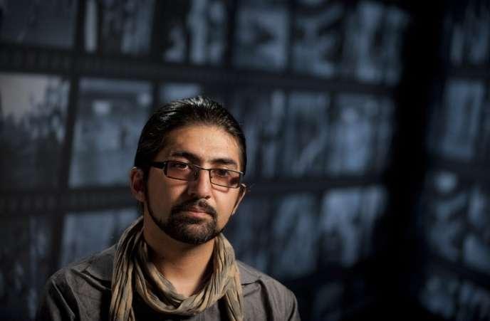 Le photographe afghan Massoud Hossaini à Washington, le 24 mai 2012.