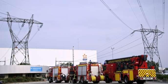 L'incident à Fessenheim a fait deux blessés légers.