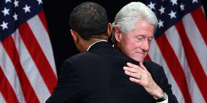Les deux hommes ont longtemps eu des relations tendues. Mais mardi soir, l'ancien président mettra sa popularité et son aura au service de la réélection de Barack Obama.