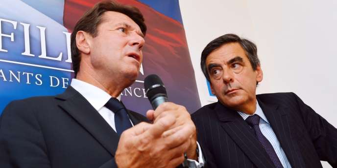 François Fillon et Christian Estrosi, à Paris, le 4 septembre 2012.