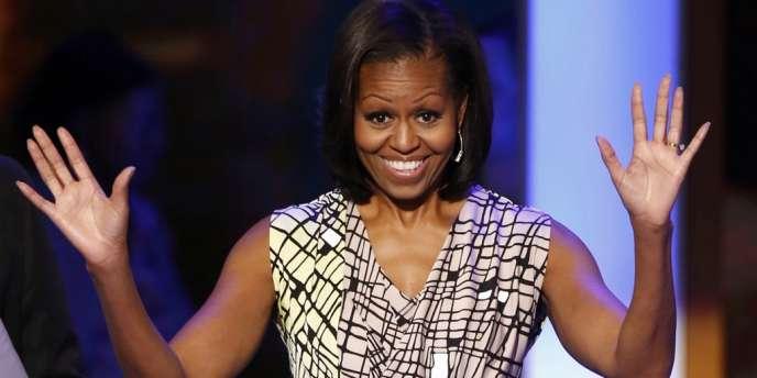 Michelle Obama, le 3 septembre, à Charlotte.