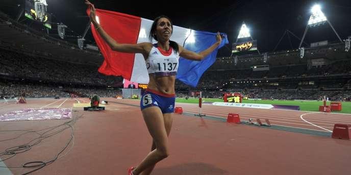 Assia El Hannouni a remporté le 7e titre olympique de sa carrière à Londres. Le 4 septembre.