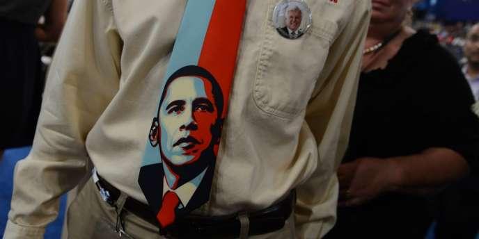 Porté au pouvoir sur un slogan d'espoir, Barack Obama a la lourde tâche d'assumer à la fois un bilan qui a déçu certains électeurs de 2008 et de continuer à incarner le changement.