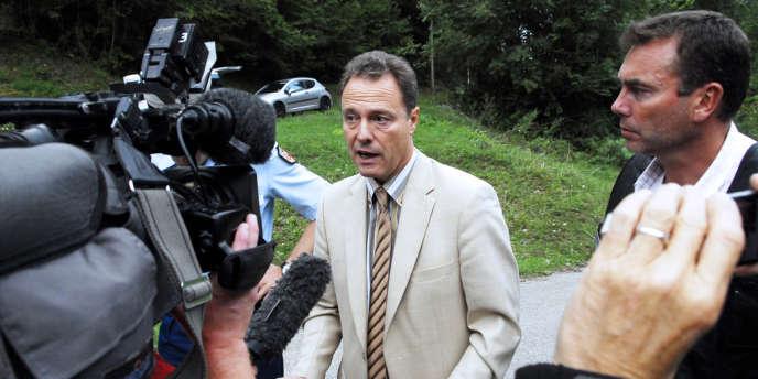 Eric Maillaud, le procureur d'Annecy, le 5 septembre.