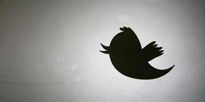 Le logo de Twitter.