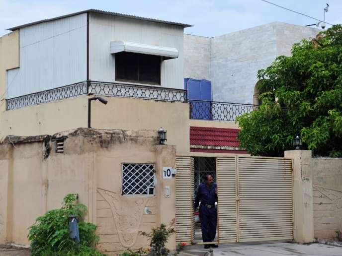 A Islamabad, le siège de l'ONG Save The Children, dont les employés étrangers sont expulsés du Pakistan.