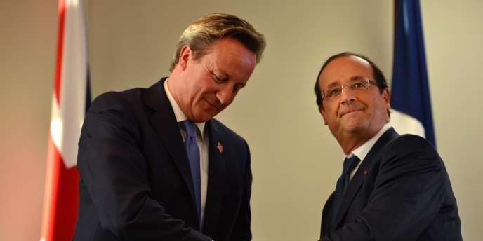 David Cameron et François Hollande, jeudi 6 septembre à Londres