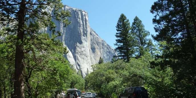 Vue de la vallée du Yosemite, en juin.