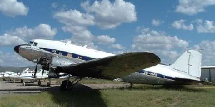 Le DC3 de l'Association Airscapade DC3