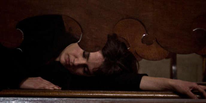 L'actrice Maya Sansa dans le film italien de Marco Bellocchio,