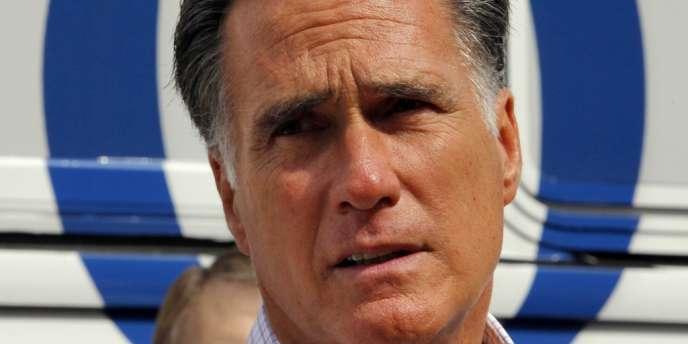 Mitt Romney, lors d'une rencontre avec un groupe d'anciens combattants, à Concord, dans le New Hampshire, le 6 septembre 2012.