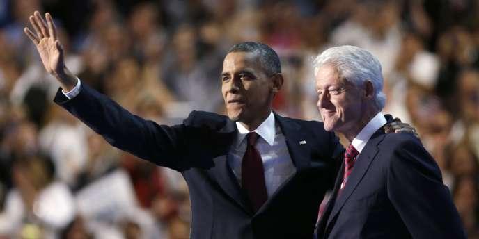 Barack Obama, le 5 septembre 2012, devant la convention démocrate, à Charlotte.