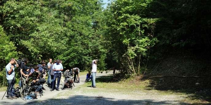 Le site de la tuerie de Chevaline a été rouvert vendredi 7 septembre à la mi-journée.