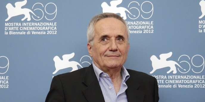 Le réalisateur Marco Bellocchio à la 69e Mostra de Venise, le 5 septembre 2012.