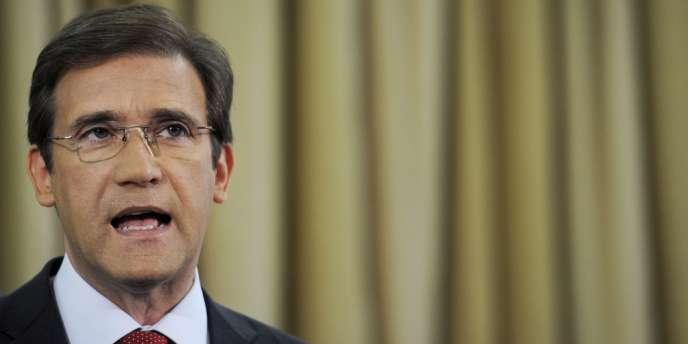 Le premier ministre portugais, Pedro Passos Coelho, le 7 septembre à Lisbonne.