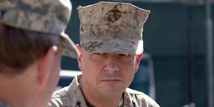 Le général John Allen qui commande les forces de l'OTAN en Afghanistan, le 20 août 2012.