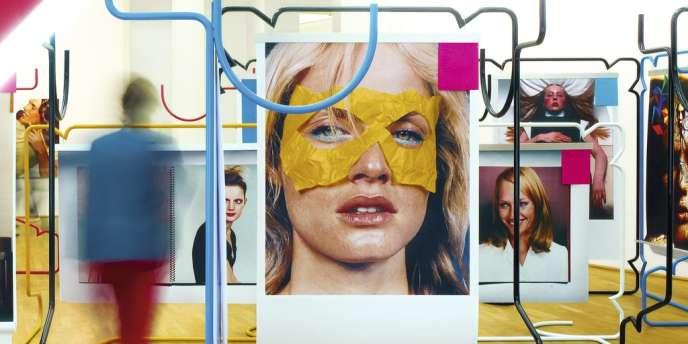 Image exclusive  réalisée pour M Le magazine du Monde par M/M (Paris) à partir d'une photo  de leur installation pour l'exposition