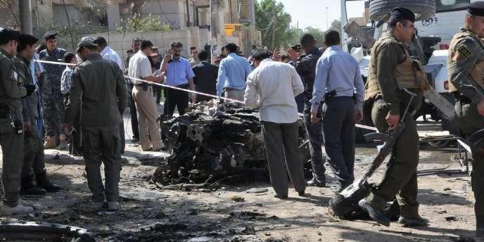 Une voiture piégée a explosé devant les locaux qui abritent la représentation française.
