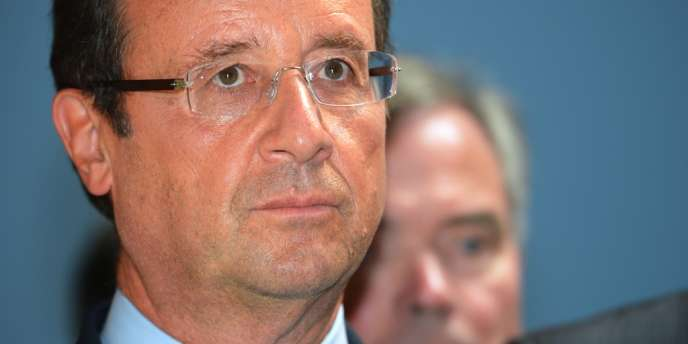 François Hollande est à nouveau monté au créneau, mardi 11 septembre, au sujet de la vente à la découpe du volailler Doux.