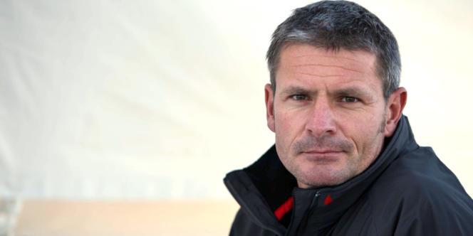 Sidney Gavignet, skipper de Musandam-Oman Sail, le seul trimaran non européen de la flotte de l'European Tour.