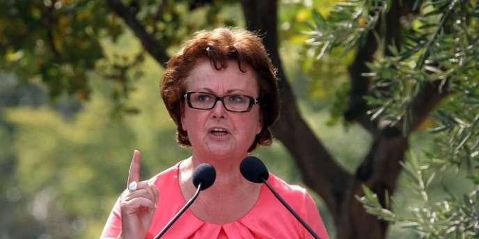 Christine Boutin veut un référendum sur le mariage homosexuel.