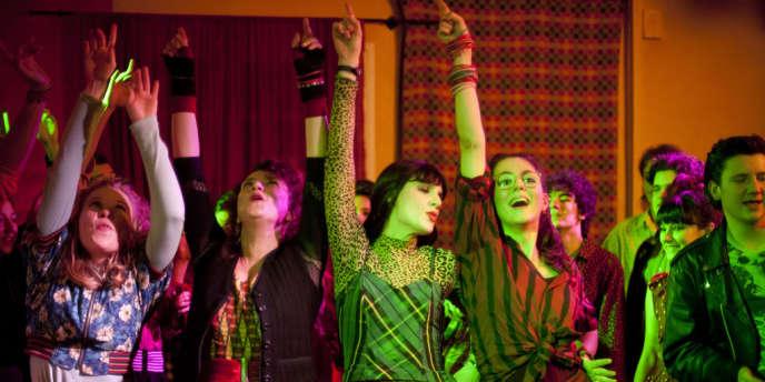 India Hair, Noémie Lvovsky, Judith Chemla et Julia Faure dans le film français de Noémie Lvovsky,