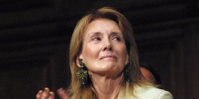 Annie Ernaux, en juillet 2001 à Paris.