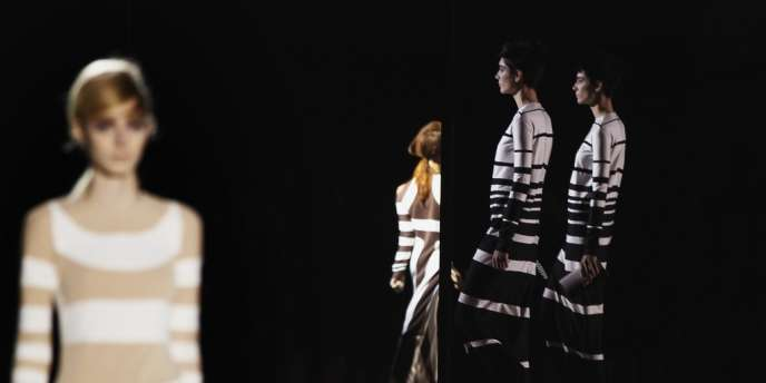 Défilé Marc Jacobs lors de la semaine de la mode de New York.