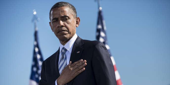 Le président américain Barack Obama a rendu hommage aux victimes des attentats au Pentagone.