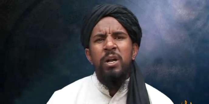 Image extraite d'une vidéo montrant le leader d'Al-Qaida Abu Yahya Al-Libi en 2007.