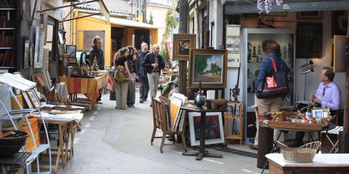 Le marché aux puces de Saint-Ouen.
