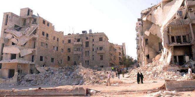 Alep, le 10 septembre.