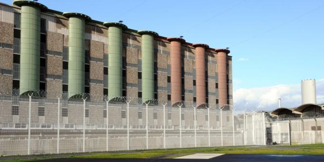 La prison de Fleury-Mérogis, près de Paris.