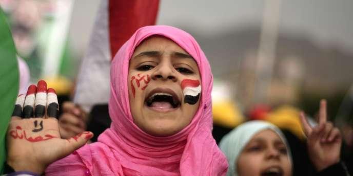 Plus de 200 000 personnes sont descendues dans les rues de Sanaa mardi pour demander la levée d'amnistie accordée à l'ancien président Ali Abdallah Saleh.