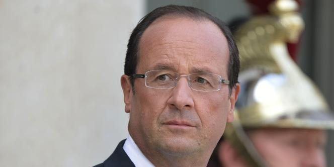 François Hollande, le 10 septembre à l'Elysée.