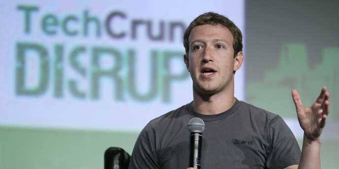 Mark Zuckerberg, lors de son intervention du 11 septembre 2012, à San Francisco.