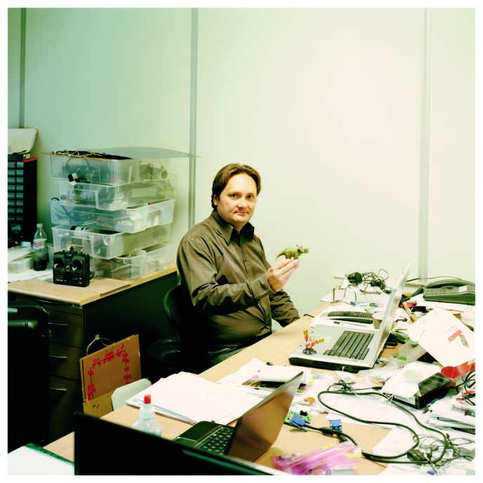 Valentin Lefèvre, ingénieur et inventeur. Leader mondial du concept de réalité augmentée.