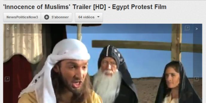Capture d'écran de la bande-annonce du film