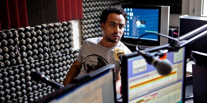 Amanuel Ghirmai, journaliste à Radio Erena.